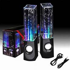 Speakers That Light Up And Shoot Water Dancing Water Speakers 4 Colors Available