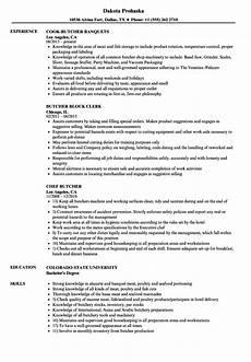 Butcher Job Description Butcher Resume Samples Velvet Jobs