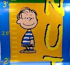Peanuts Growth Chart Peanuts Growth Chart Charlie Brown Snoopy Linus Lucy 5