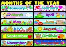 Printable Month Months Poster Worksheet Free Esl Printable Worksheets