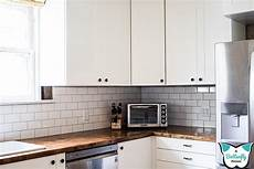 installing kitchen tile backsplash how to install tile on wavy walls a butterfly house
