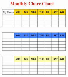 Chore Chart Template Word Chart Template Download Free Documents In Pdf Word Excel