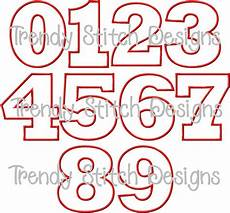 Fonts For Numbers 10 Cute Number Fonts Images Fancy Number Fonts Cute