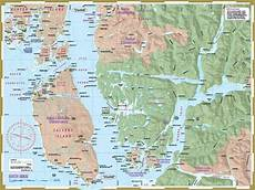 Marine Charts Bc Coast South Hakai Map Chart For Kayaking And Boating Wild