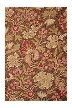 fabric antique cretonne 1880 brown arts and crafts