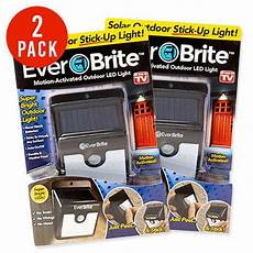Ever Brite Light Led Motion Activated Outdoor 1 2 4 Pcs Solar Power Ever Outdoor Motion Brite Activated