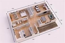buendia casa piloto 90m2 house floor plans family house