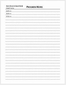 Patient Note Template 5 Best Patient Note Templates For Ms Word Amp Excel Word
