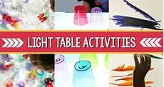 Light Theme Preschool Light Table Activities For Preschool Pre K Pages