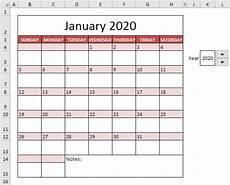 Calender Form Calendar Template In Excel Easy Excel Tutorial
