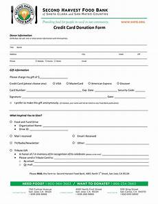 Donation Form Template Credit Card Donation Form Templates At