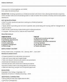 Skills For Medical Assistant Sample Skills For Medical Resume 7 Examples In Word Pdf