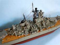 Large Model Of The Uss New Jersey Bb 62 Battleship