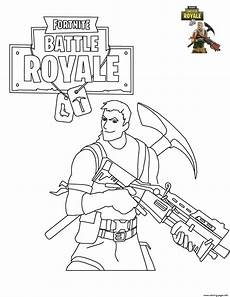 fortnite battle royale coloring pages malvorlagen