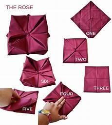 Rose Folding One Minute Guide To Napkin Folding Diy Boston Boston Com
