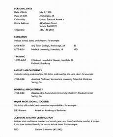 Cv Format For Doctors Pdf Doctor Resume Template Pdf Resume Examples Cv Resume