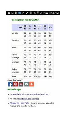 Normal Human Pulse Rate Chart The 25 Best Resting Heart Rate Chart Ideas On Pinterest