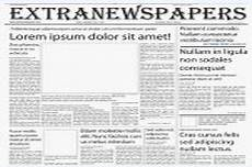Newspaper Outline For Word Wonderful Free Templates To Create Newspapers For Your