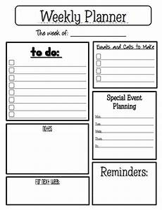 Weekly Planning Sheets The Best Of Teacher Entrepreneurs Free Misc Lesson