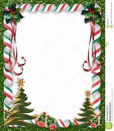 Christmas Card Borders Free Christmas Border Frame Candy Stock Illustration