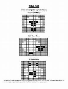 Ravelry Sheep Intarsia Charts Pattern By Steph Conley