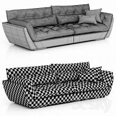 Large Sofa 3d Image by 3d Models Sofa Roche Bobois Originel Large 4 Seat Sofa