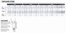 Shin Pads Size Chart Easton Synergy Hsx Shin Guard Sr