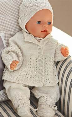 knitting patterns for baby dolls american dolls