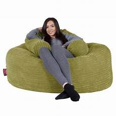lounge pug lime green large bean bag for adults