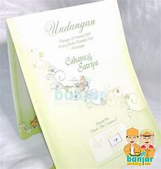 undangan pernikahan murah ub ob01 banjar wedding