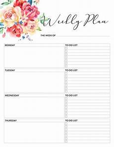 Free Printable Planner Pages Free Printable 2020 Planner 50 Plus Printable Pages