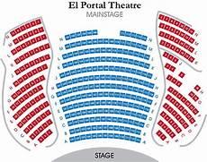 The El Rey Theatre Seating Chart El Portal Theatre Mainstage Seating Chart Theatre In La