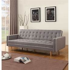 home usa 2 tone mid century sleeper sofa reviews