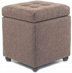 Esituro Ottoman Padded Footstool Fur Pouffe Chair by Esituro Ottoman Storage Square Chest Padded Footstool