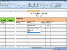 Landlord Templates Landlord Rental Income And Expenses Tracking Spreadsheet