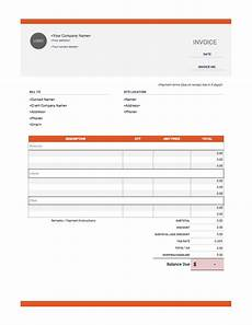 Construction Bill Template Contractor Invoice Templates Free Download Invoice Simple