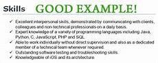 Problem Solving Skills Cv Cv Skills Example