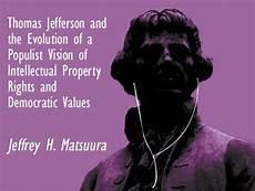 Jeffrey H Matsuura Thomas Jefferson And The Evolution