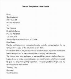 Resignation Letter Layout 69 Resignation Letter Template Word Pdf Ipages Free