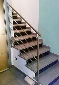 corrimano scale corrimano scale in acciaio inox su misura