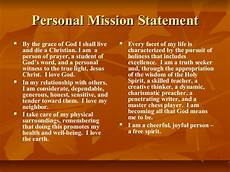 Examples Of Personal Mission Statements For Career Personal Mission Statement By Kwame Payne