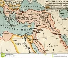 turco ottomano mapa viejo atlas geogr 225 fico 1890 el imperio otomano