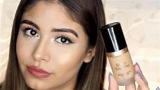 Born This Way Light Beige Review Too Faced Born This Way Foundation Review Youtube