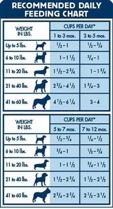 Blue Buffalo Puppy Feeding Chart Blue Buffalo Chicken Amp Brown Rice Life Protection Formula