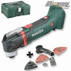 Akku Multitool Werkzeug by Metabo Akku Multitool Mt18ltx Metaloc