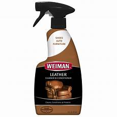 weiman leather cleaner and conditioner 16 ounce for