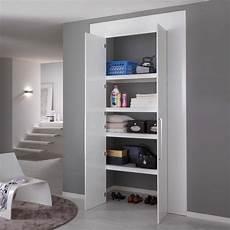 armadio per ingresso casa armadio a muro lineare per nicchie modello fasce