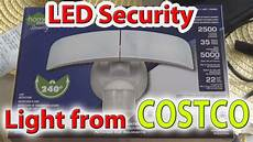 Costco Led Motion Light Led Security Light From Costco 2018 Review Youtube