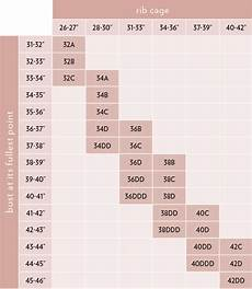 Full Bra Size Chart Bra Guide