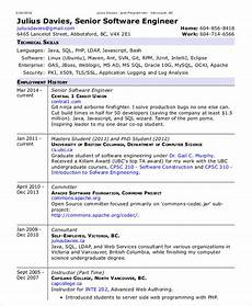 Resume Format Experienced Software Engineer Software Engineer Resume Example 15 Free Word Pdf
